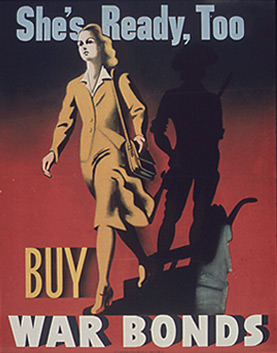 War bonds poster